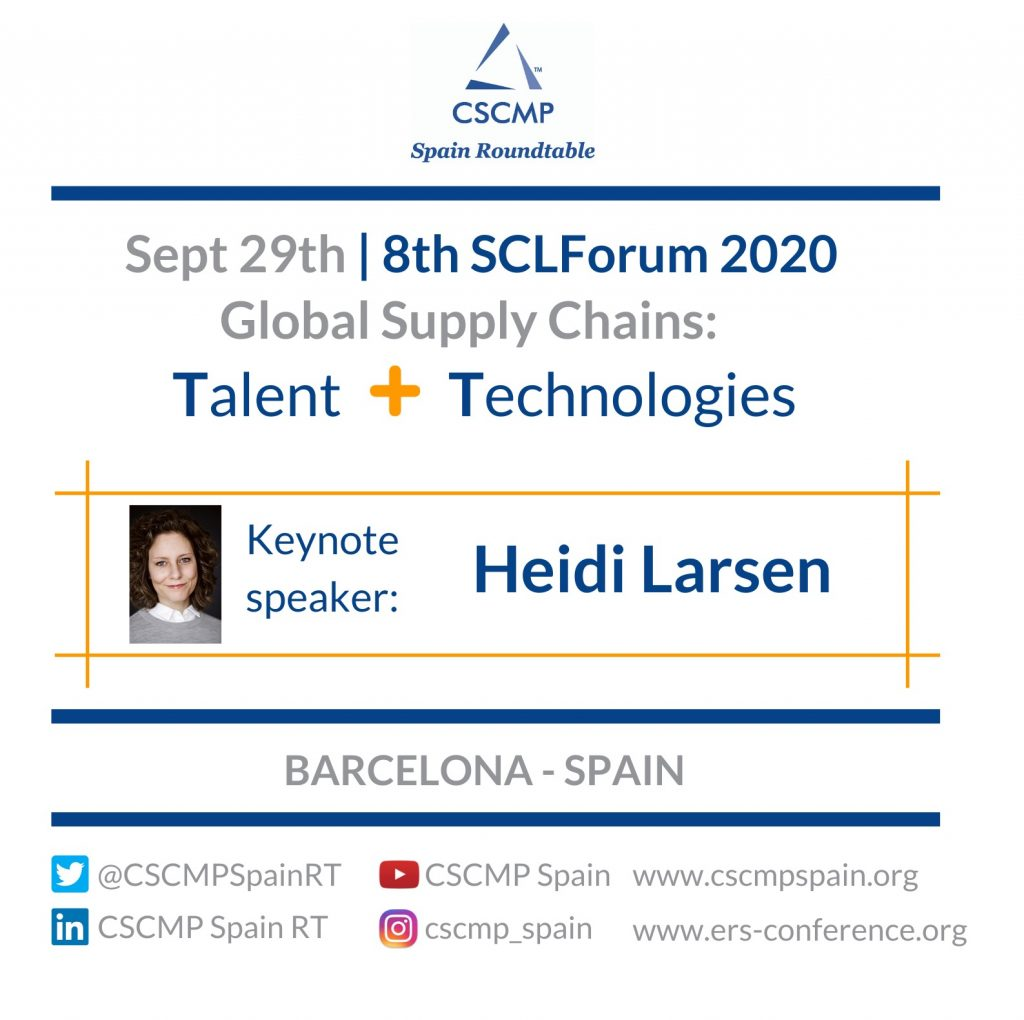 "8th Supply Chain Leadership Forum: ""Global Supply Chains: Talent + Technologies"""